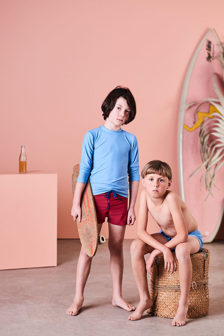 Sustainable swimwear for boys